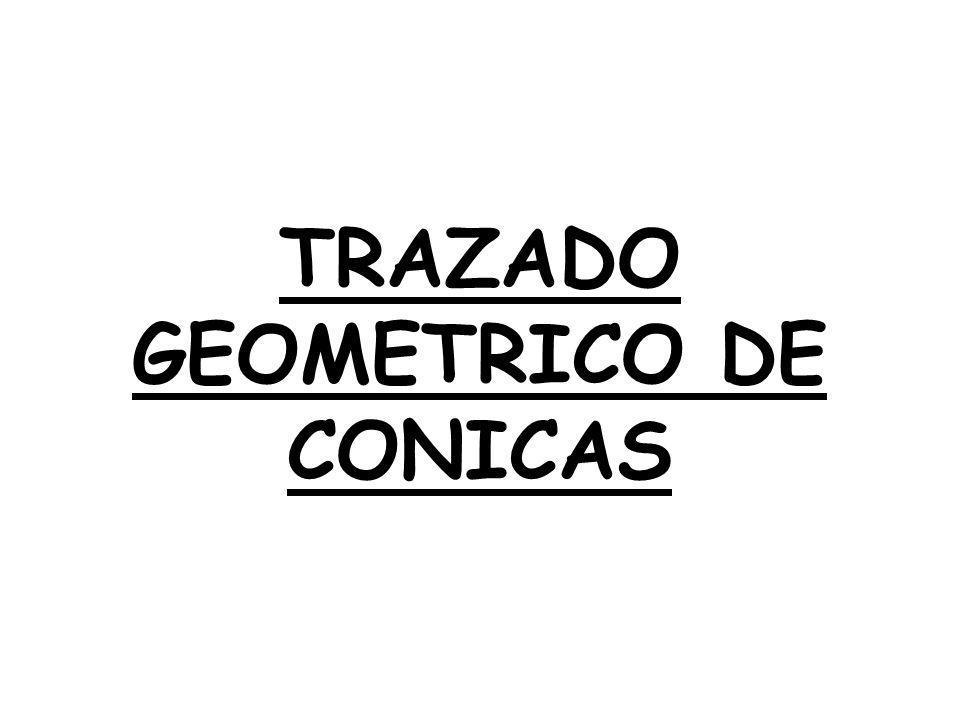 TRAZADO GEOMETRICO DE CONICAS