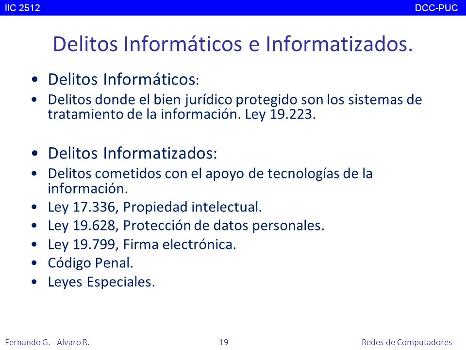 Delitos Informáticos e Informatizados. Delitos Informáticos : Delitos donde el bien jurídico protegido son los sistemas de tratamiento de la informaci