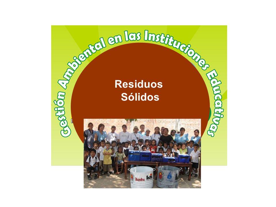 Los residuos sólidos en la Escuela