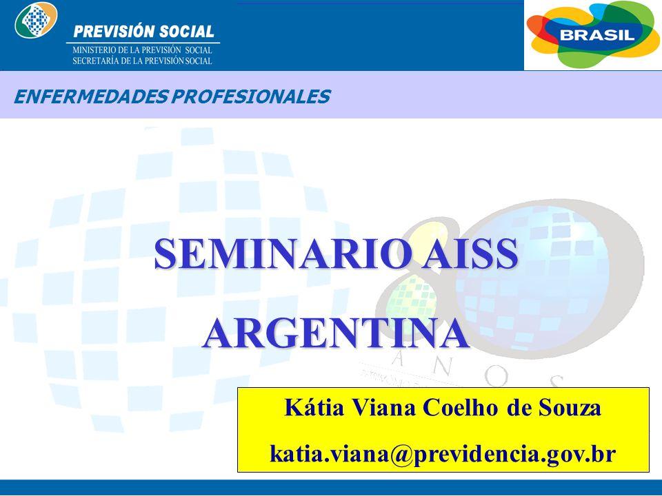 BRASIL ENFERMEDADES PROFESIONALES ENFERMEDADES PROFESIONALES EN BRASIL