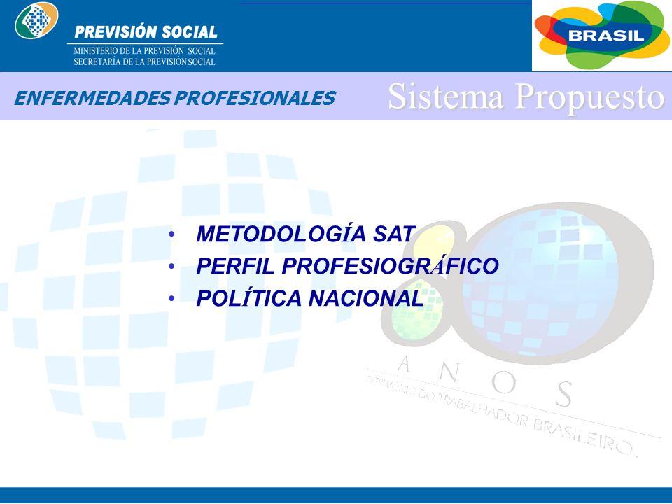 BRASIL ENFERMEDADES PROFESIONALES SISTEMA PROPUESTO