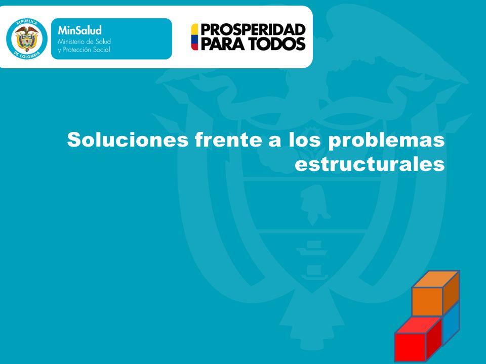 Soluciones frente a los problemas estructurales