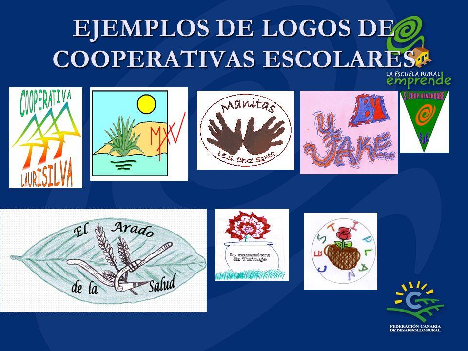 EJEMPLOS DE LOGOS DE COOPERATIVAS ESCOLARES