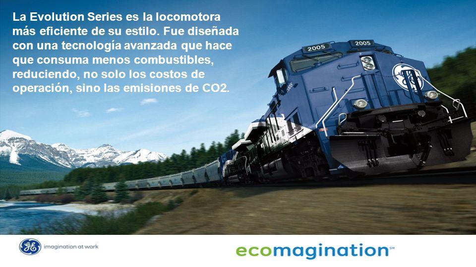 La Evolution Series es la locomotora más eficiente de su estilo.