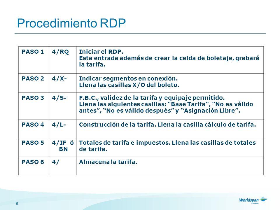 6 Procedimiento RDP PASO 14/RQIniciar el RDP.