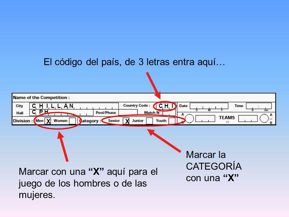 C H I L L Á N C H I 2 9 1 0 0 8 0 2 La hora de INICIO del ENCUENTRO va aquí.