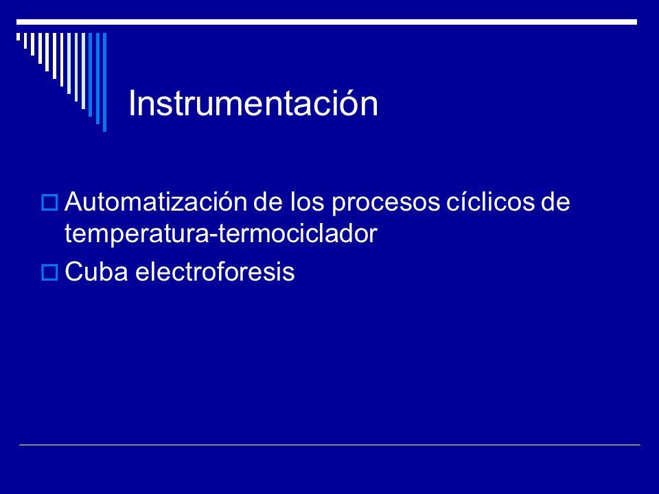 Protocolo de PCR Se optimizarán diferentes condiciones Concentración de Mg +2, Temperatura de annealing, Polimerasa utilizada.