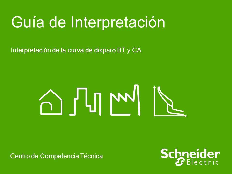 Guía de Interpretación Interpretación de la curva de disparo BT y CA Centro de Competencia Técnica