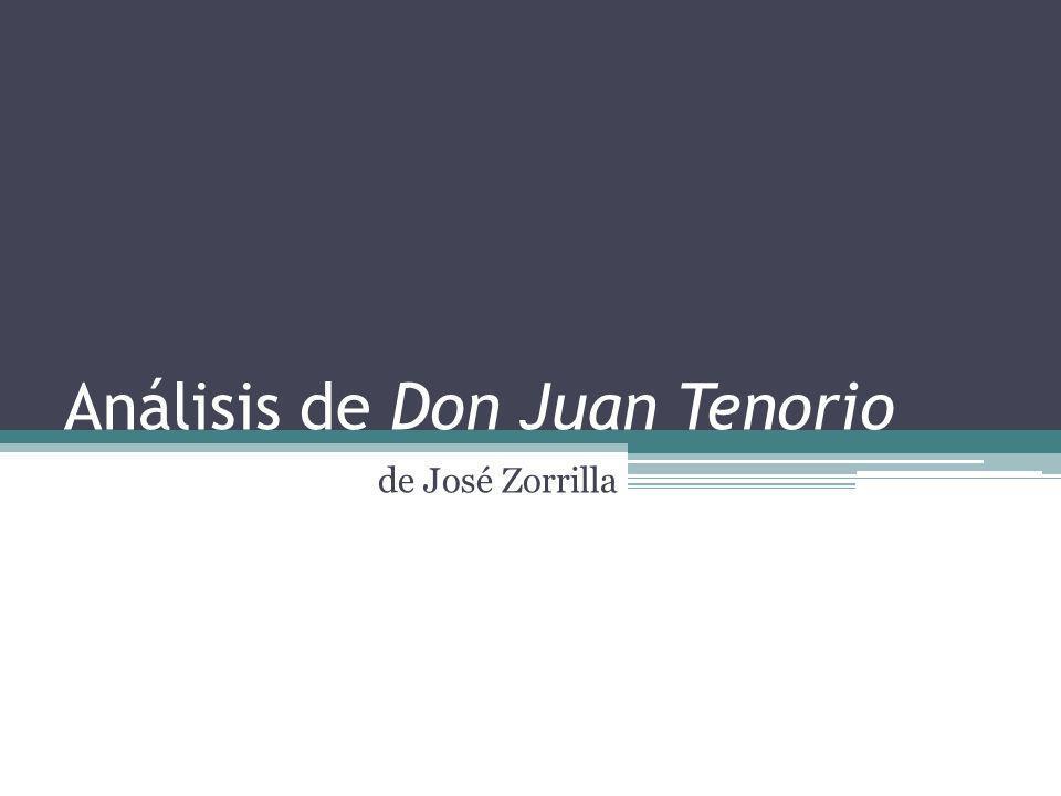 El libro Su nombre original es Don Juan Tenorio: drama religioso en dos partes.