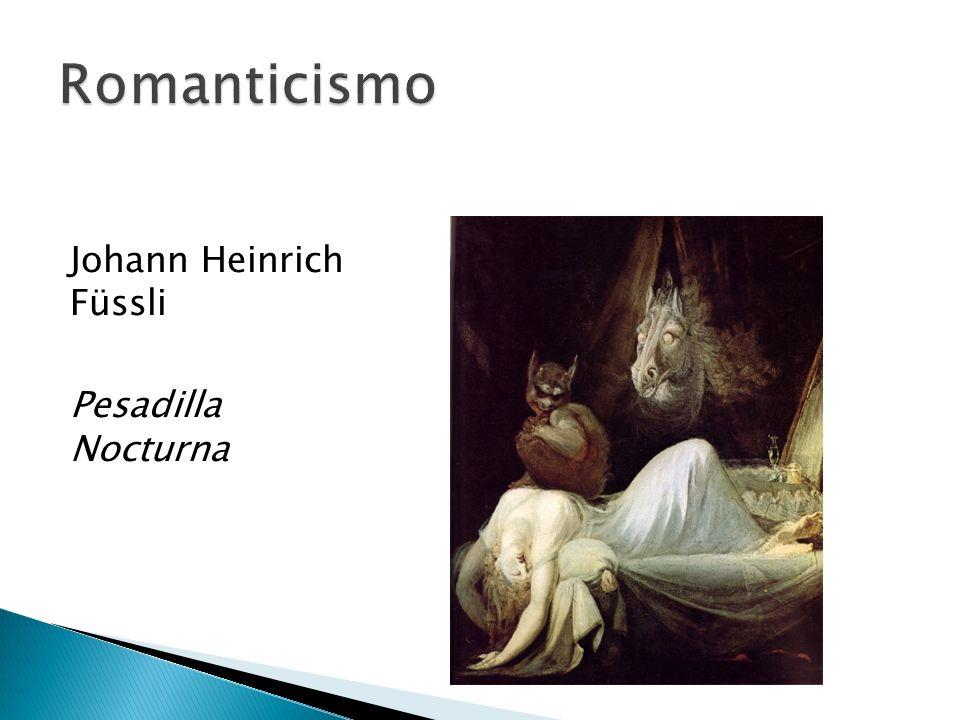 Johann Heinrich Füssli Pesadilla Nocturna
