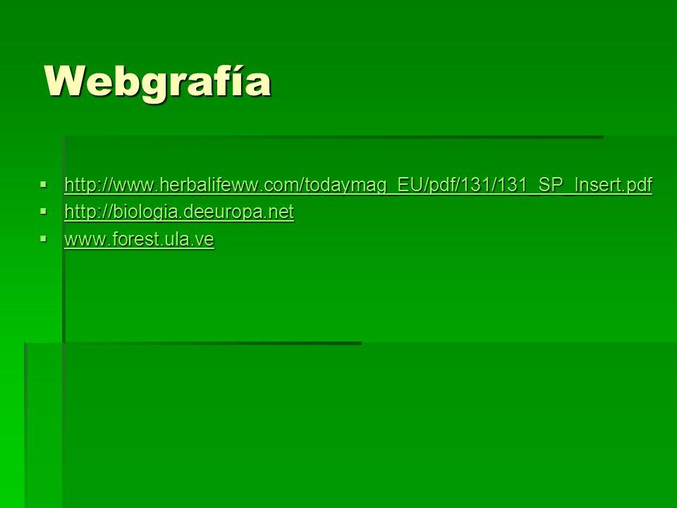 Webgrafía http://www.herbalifeww.com/todaymag_EU/pdf/131/131_SP_Insert.pdf http://www.herbalifeww.com/todaymag_EU/pdf/131/131_SP_Insert.pdf http://www