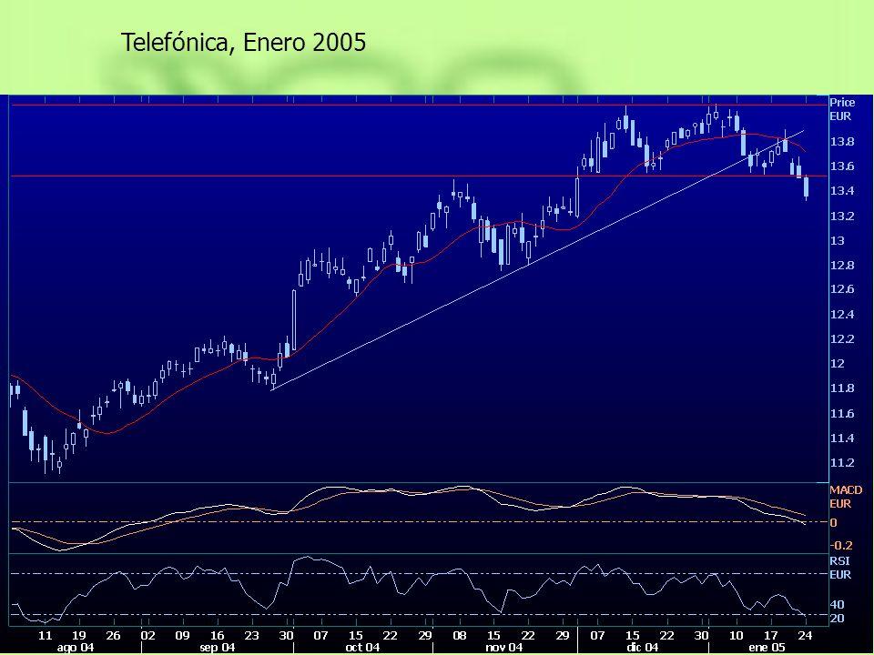 Telefónica, Enero 2005