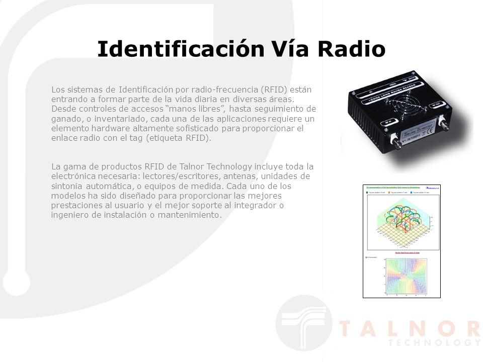 Identificación Vía Radio Los sistemas de Identificación por radio-frecuencia (RFID) están entrando a formar parte de la vida diaria en diversas áreas.