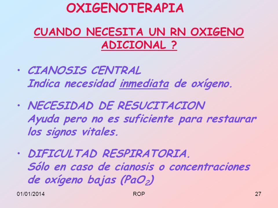 CIANOSIS CENTRAL Indica necesidad inmediata de oxígeno. NECESIDAD DE RESUCITACION Ayuda pero no es suficiente para restaurar los signos vitales. DIFIC
