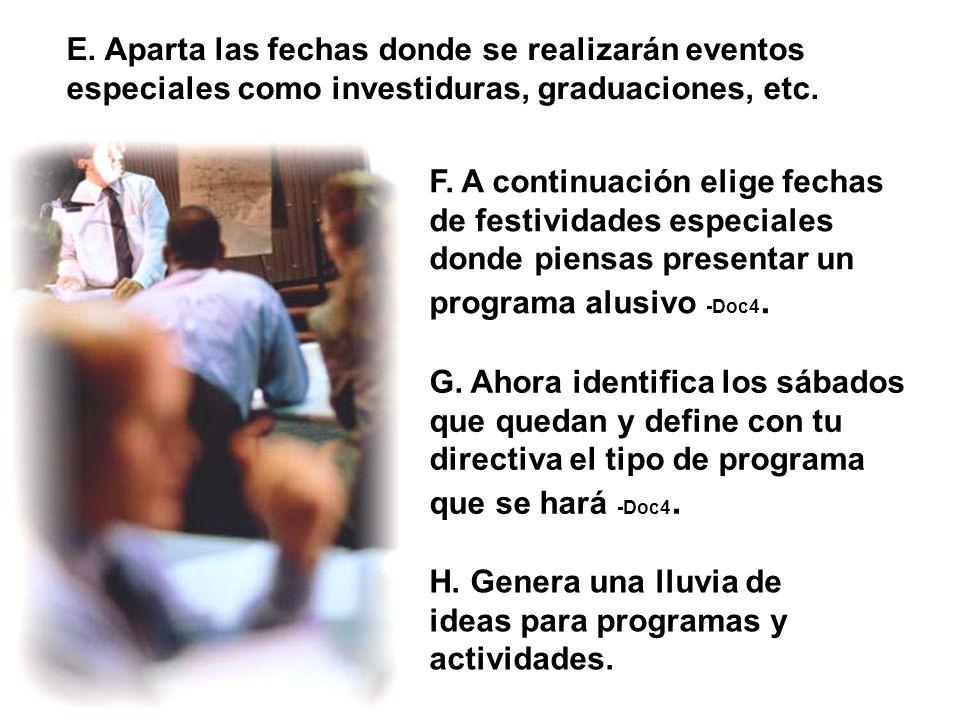 Campaña de Evangelismo Juvenil/Octubre 26-31/Directiva