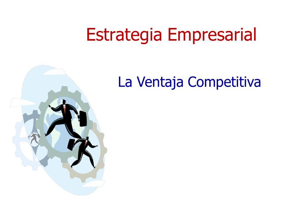 Los fundamentos de la Estrategia Competitiva + El objetivo central de las empresas es el retorno sobre la inversión superior al promedio de manera sostenida.
