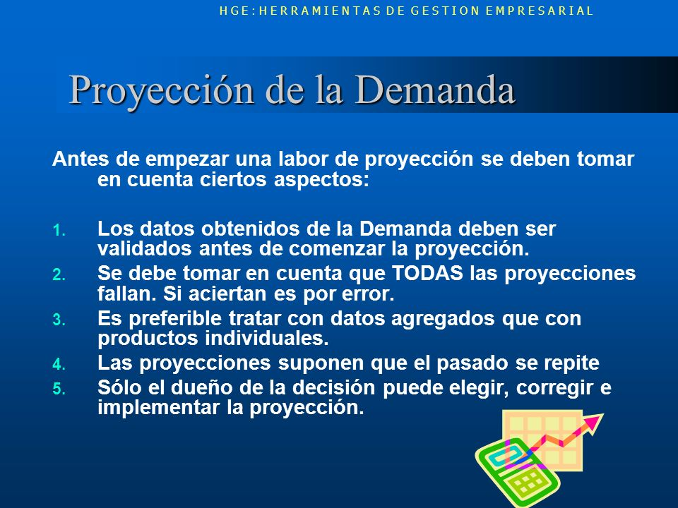 Tipos de Proyección Tipos de Proyección PROYECCION CUALITATIVA Se estudia al futuro.