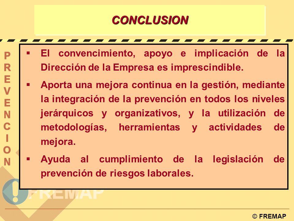 © FREMAP AUDITORIA DE CERTIFICACIÓN w Auditoria de certificación OHSAS Auditoria en fase I Política Procesos de identificación y evaluación de riesgos
