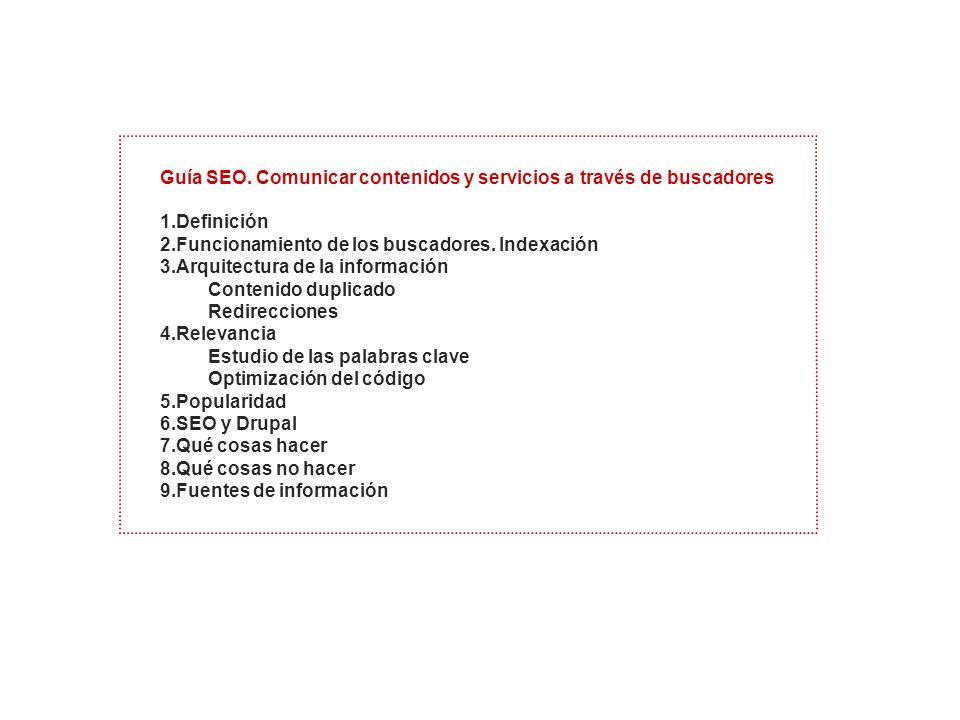 Guía SEO.
