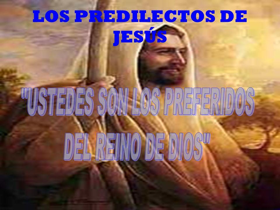 EL PAPA OS AMA POR QUE SOIS LOS PREDILECTOS DE DIOS