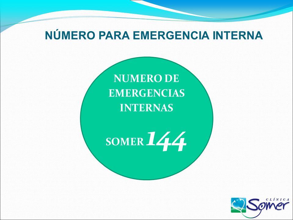 PASOS PARA EMERGENCIA INTERNA EMERGENCIAS INTERNA DETECCIÓN DE LA EMERGENCIA LLAMAR AL 144 ALERTA: PREPARARSE PARA EVACUAR. SIRENA INTERMITENTE X 30 S
