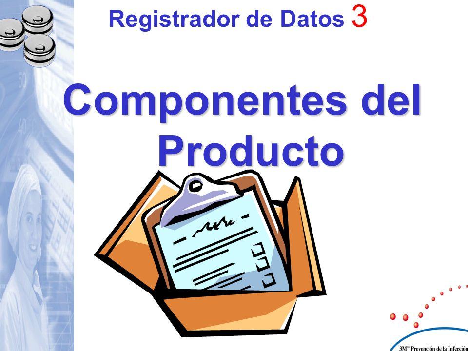 Componentes del Producto Registrador de Datos 3