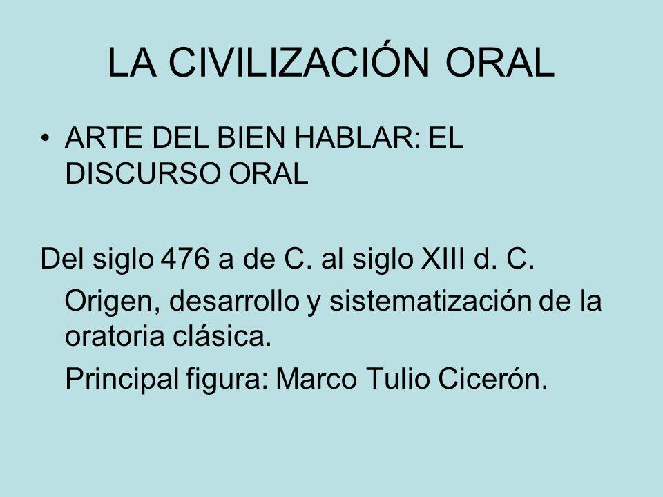 CIVILIZACIÓN ESCRITA ARTE DE BIEN ESCRIBIR.ARTE DE BIEN LEER.