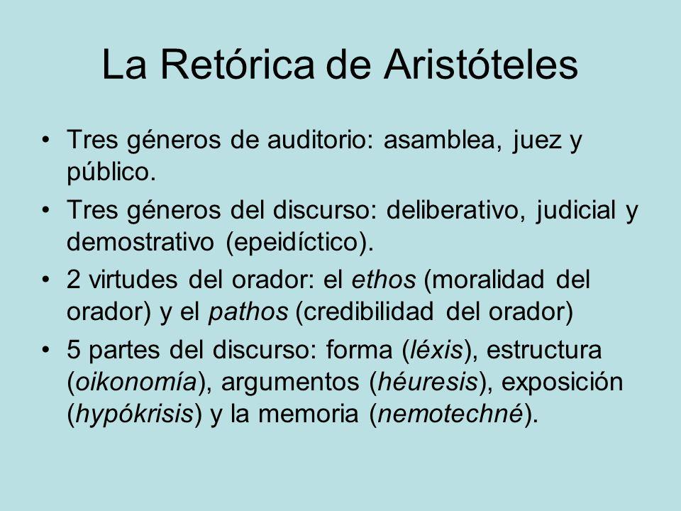 RHETORICA AD HERENNIUM El primer tratado de retórica, 90 a.
