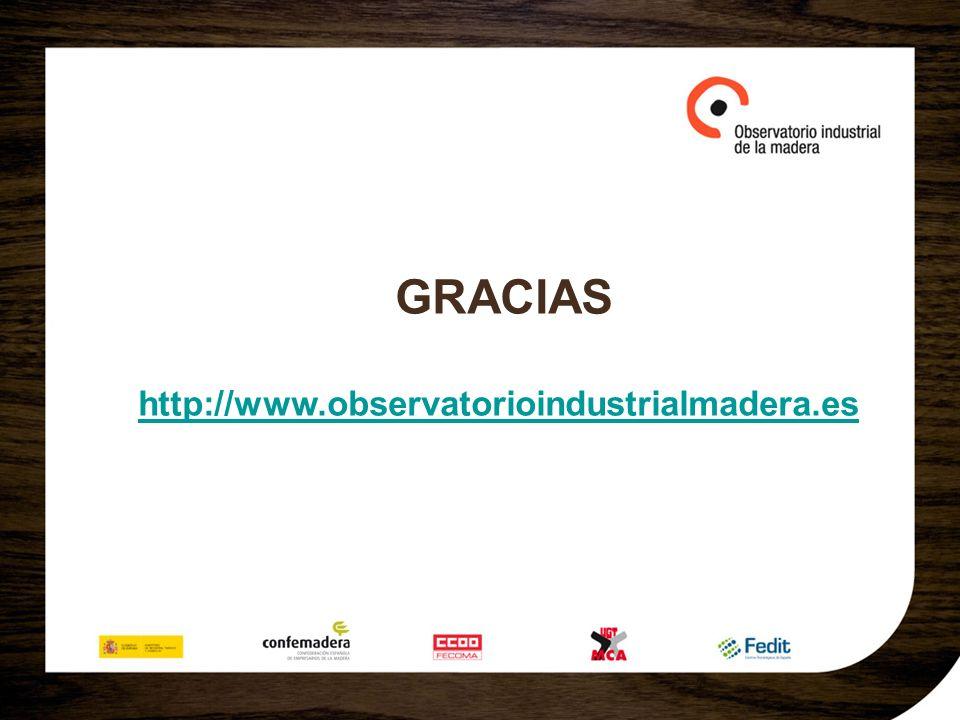 GRACIAS http://www.observatorioindustrialmadera.es