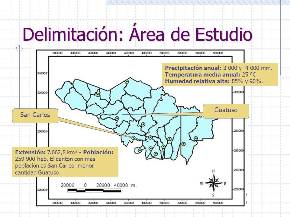 Objetivos Objetivo general Realizar un análisis territorial en el espacio geográfico de la Región huetar Norte para la propuesta de una localización optima de un complejo industrial.