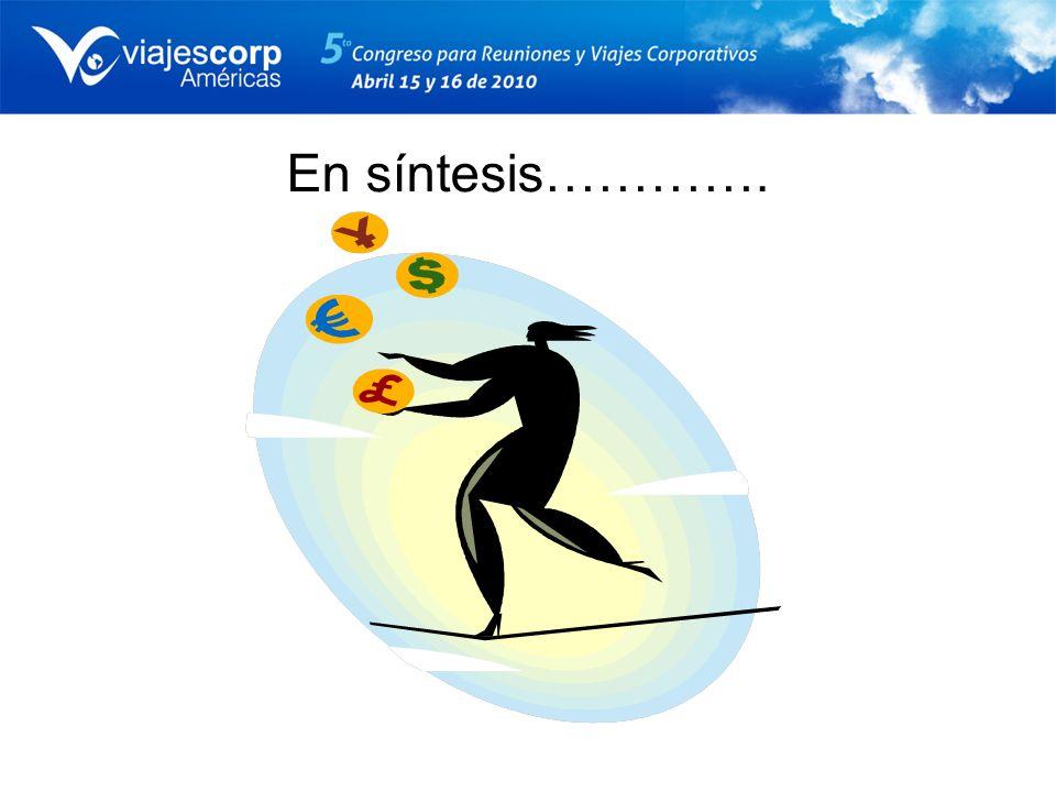 Opciones tácticas: Medios de pago Requerir uso de la tarjeta corporativa para todos los gastos Retornos por utilización.