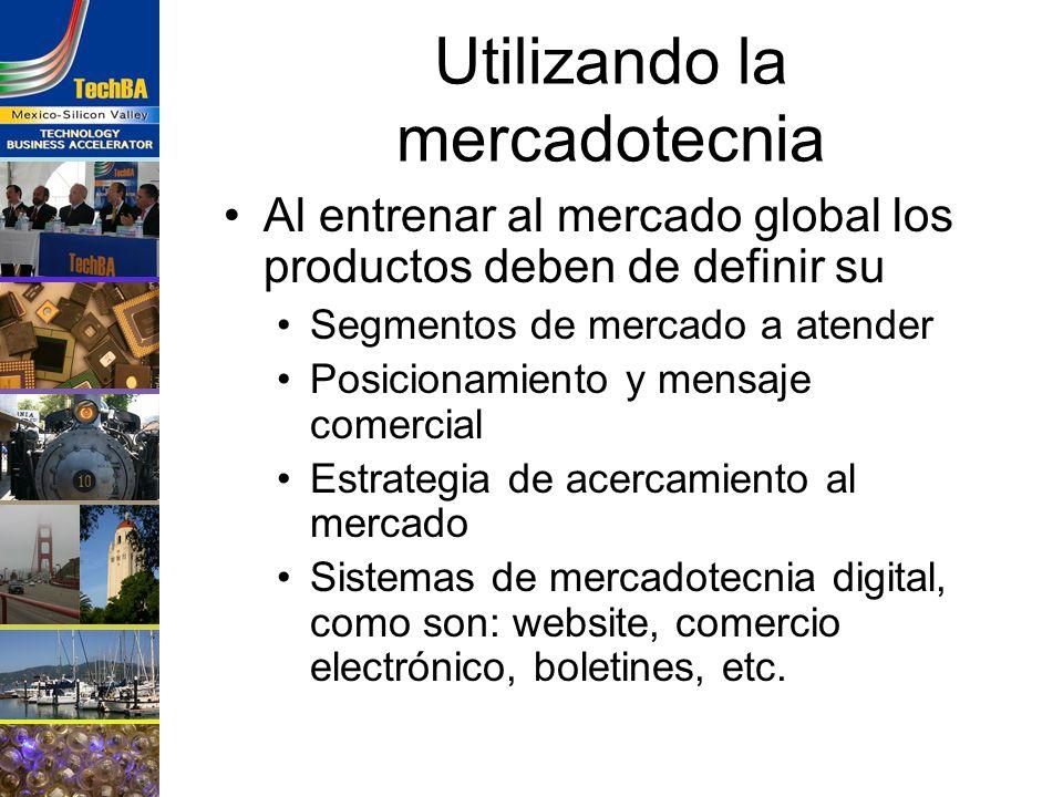 Utilizando la mercadotecnia Al entrenar al mercado global los productos deben de definir su Segmentos de mercado a atender Posicionamiento y mensaje c
