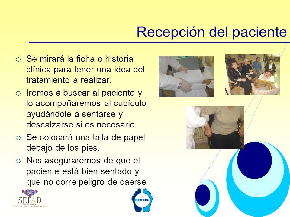 Cumplimentación de la historia clínica En caso de ser la 1ª visita realizaremos la anamnesis y rellenaremos la historia clínica.