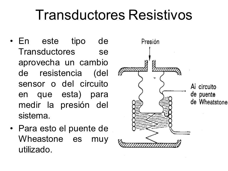 Transductores Magnéticos Existen dos tipos de Transductores Magnéticos –Transductores de inductancia variable –Transductores de reluctancia variable