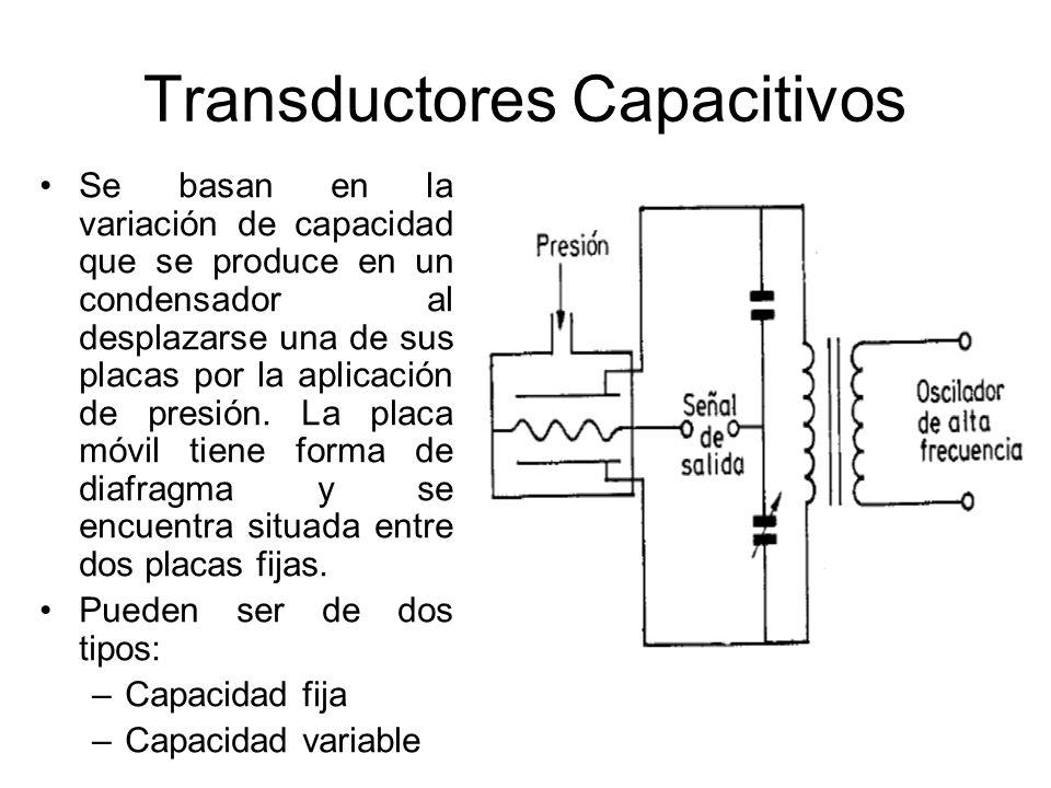 Galgas Extensométricas Se basan en la variación de longitud y de diámetro, por lo tanto de resistencia, que tiene lugar cuando un hilo de resistencia se encuentra sometido a una tensión mecánica por la acción de una presión.