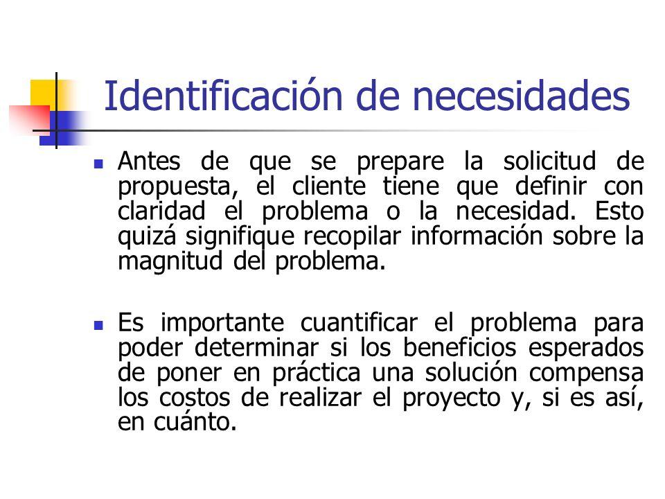 Tarea ¿Por qué es importante hacer un trabajo minucioso y detallado de identificación de las necesidades.