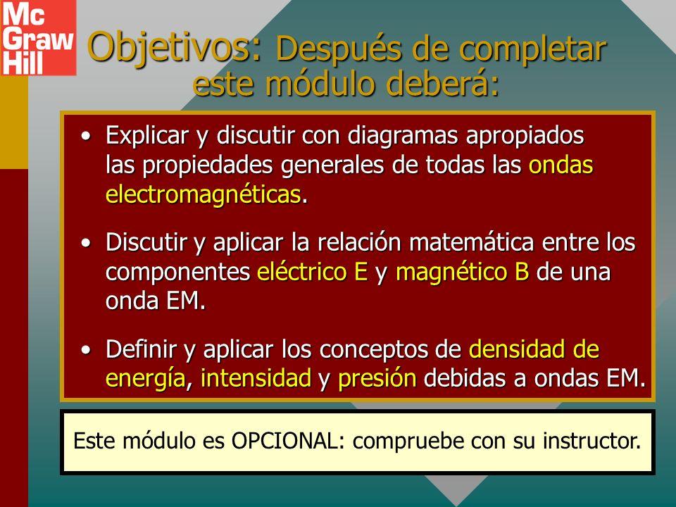 Capítulo 32C – Ondas electromagnéticas (Unidad opcional) Presentación PowerPoint de Paul E. Tippens, Profesor de Física Southern Polytechnic State Uni