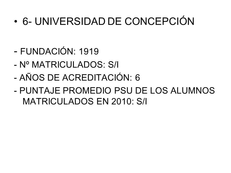 DERECHO 1- PUC DE CHILE 2- U.DE CHILE 3- PUC DE VALPARAÍSO 4- U.