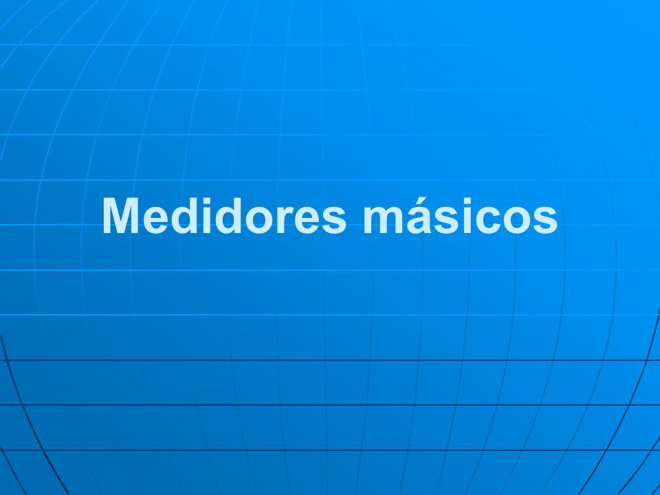 Medidores másicos