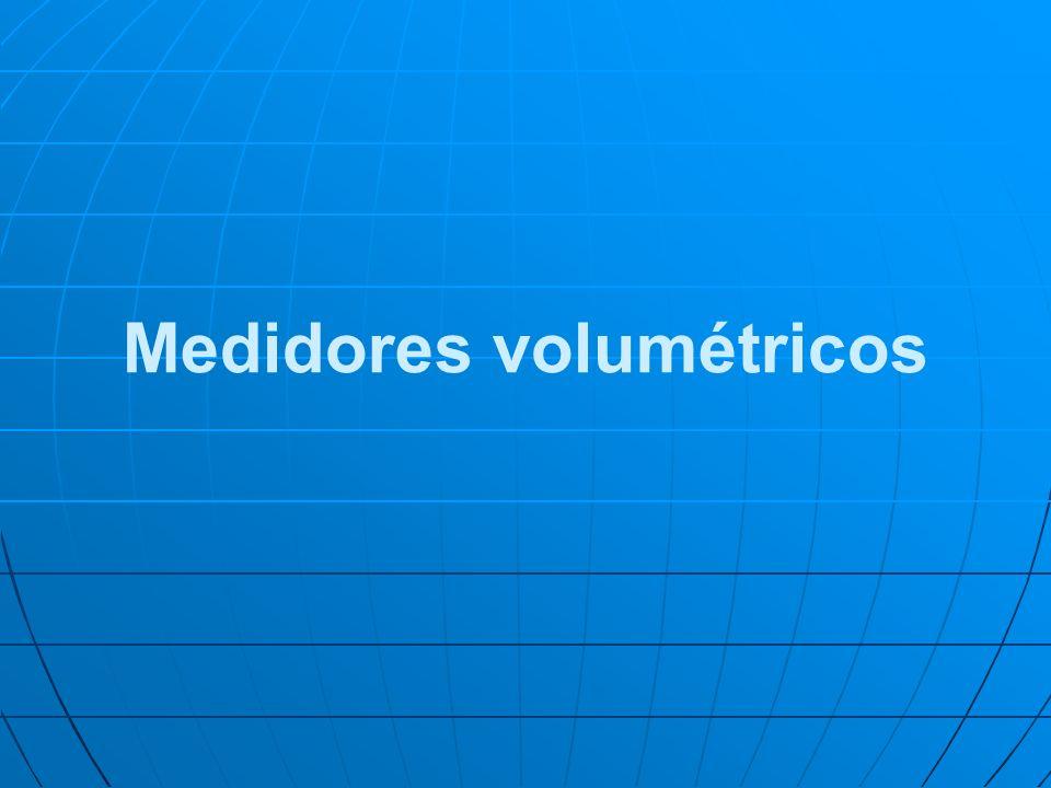 Medidores volumétricos