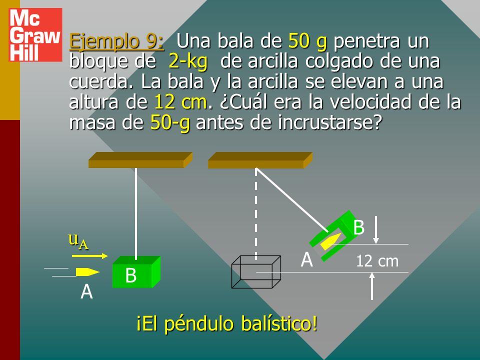 General: Completamente elástico La energía cero se pierde durante el choque (el caso ideal). Conservación de la cantidad de movimiento: Conservación d