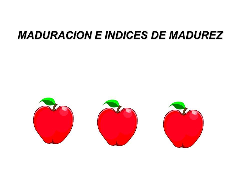 MADURACION E INDICES DE MADUREZ