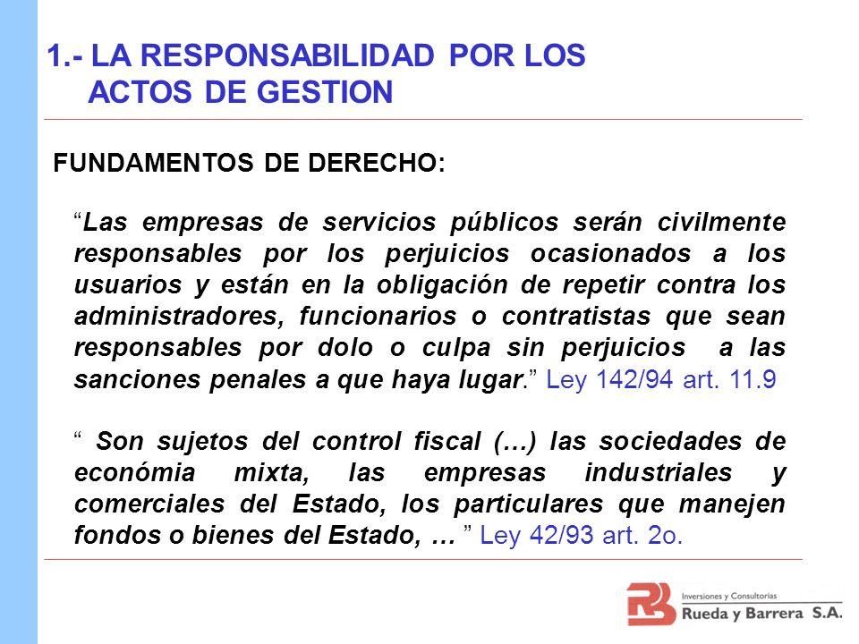 PARTICULARES : Ley 222 de 1995 SERVIDORES PUBLICOS :Ley 42 de 1993 y Ley 610 de 2000 PARTICULARES QUE MANEJAN: Reg.