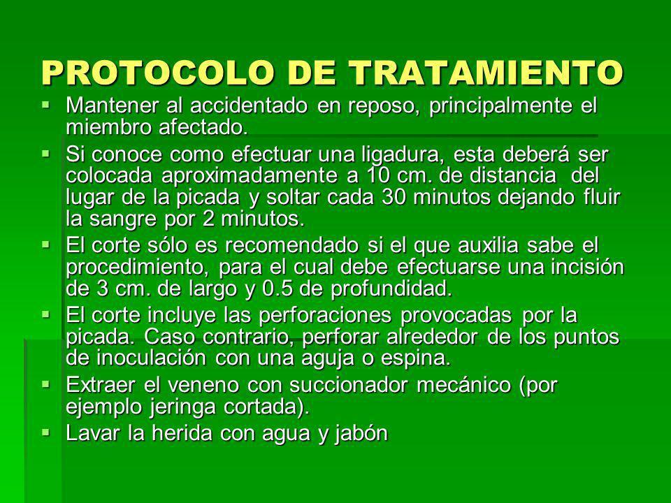 En lo posible, aplicar vía endovenosa analgésicos como el tramadol 100mg.