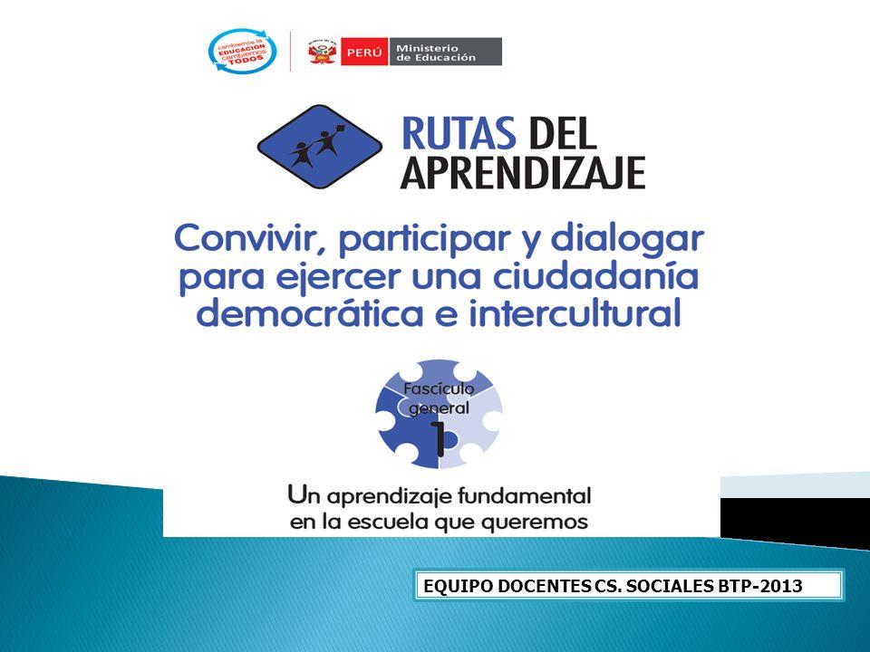 EQUIPO DOCENTES CS. SOCIALES BTP-2013