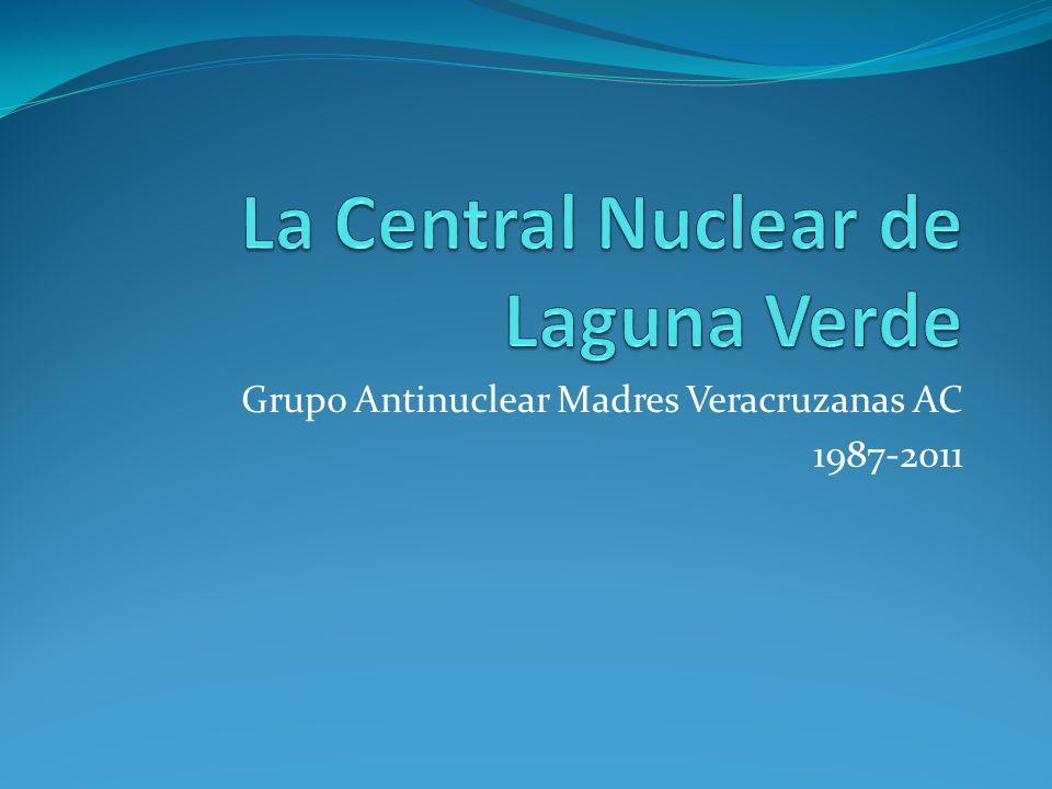 Incineración de residuos radiactivos a cielo abierto (Diario de Xalapa, 1991) 1993, derrame de 5 millones de litros de agua contaminada radiactivamente al mar.