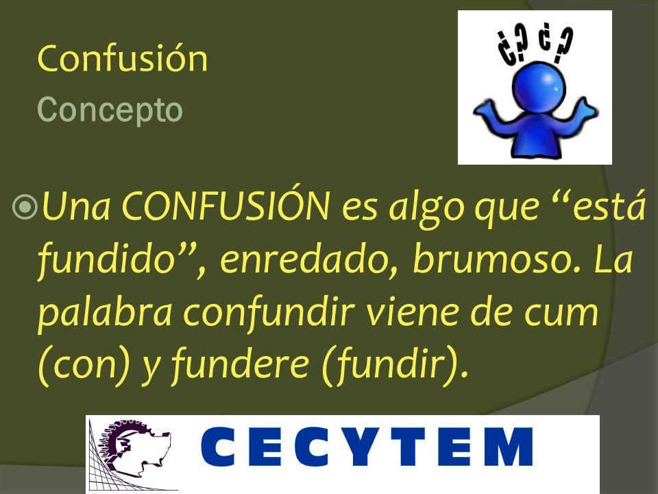 Concepto Complicación Una COMPLICACIÓN es algo que está muy plegado sobre sí mismo, no lo podemos ver con claridad u ordenar. La palabra complicar vie