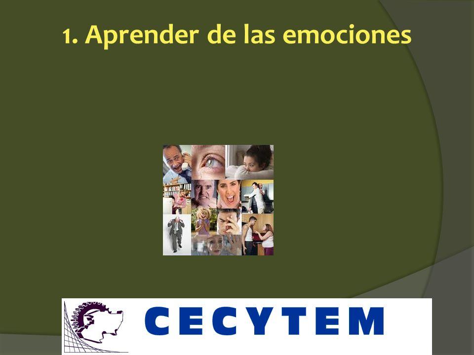 1. Aprender de las emociones