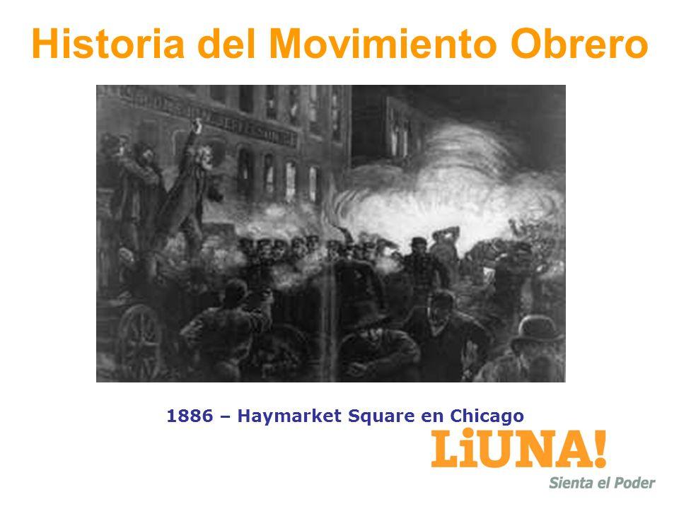 Historia del Movimiento Obrero 1886 – Haymarket Square en Chicago