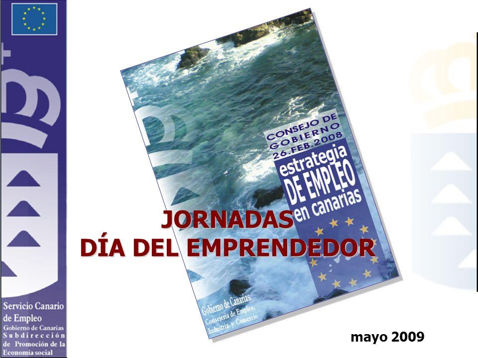 mayo 2009 JORNADAS DÍA DEL EMPRENDEDOR